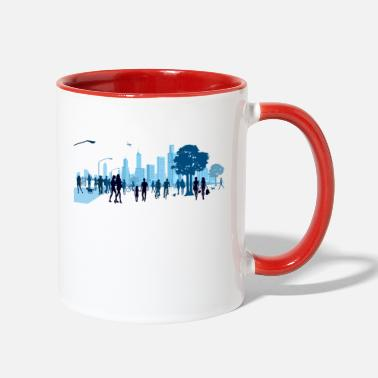City city - Contrast Coffee Mug