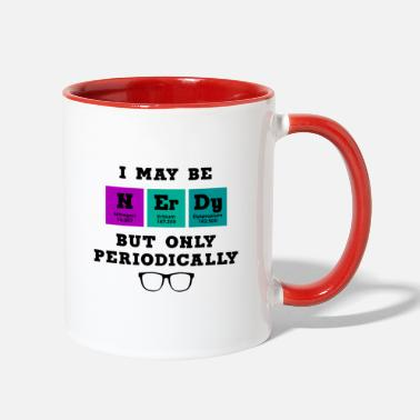 Nerd SCIENCE / NERDS / CHEMISTRY: I Amy be Nerdy - Two-Tone Mug