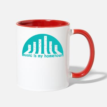 Hometown Music Hometown - Two-Tone Mug