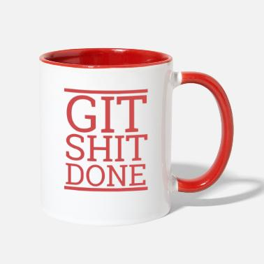 Computer Git Shit done | Programming 100316 - Two-Tone Mug