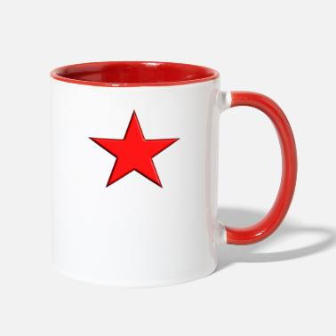 Red Star Red Star - Contrast Coffee Mug