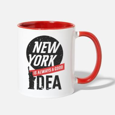 New York New York - Two-Tone Mug
