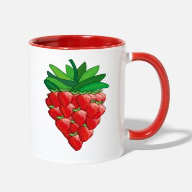 strawberry - Two-Tone Mug