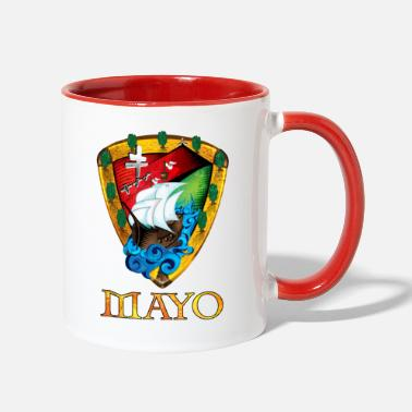 Ireland Unique Mayo Sheild - Two-Tone Mug