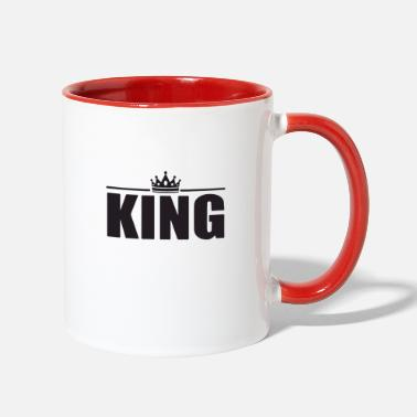 King King of the kings - Two-Tone Mug