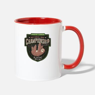 Championship national championship - Two-Tone Mug