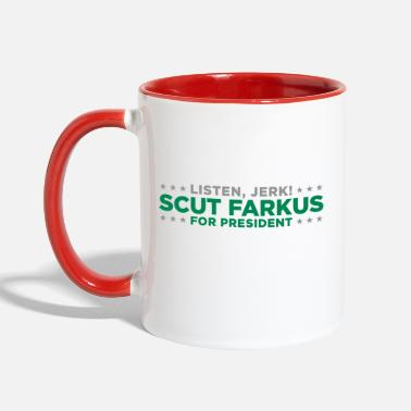 Story Scut Farkus for President Christmas Story Movie - Contrast Coffee Mug