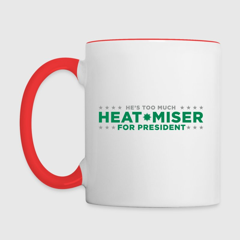 Heat Miser for President Funny Christmas TV Show - Contrast Coffee Mug