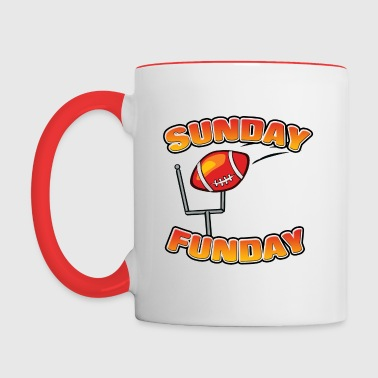 Sunday Funday - Contrast Coffee Mug
