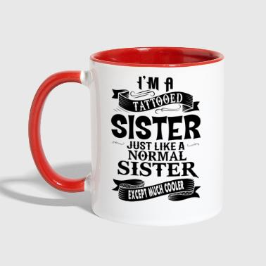 TATTOOED SISTER - Contrast Coffee Mug