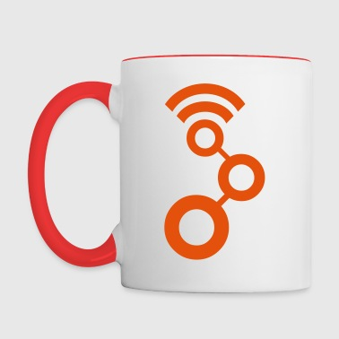 The GNU Radio Cup - Contrast Coffee Mug