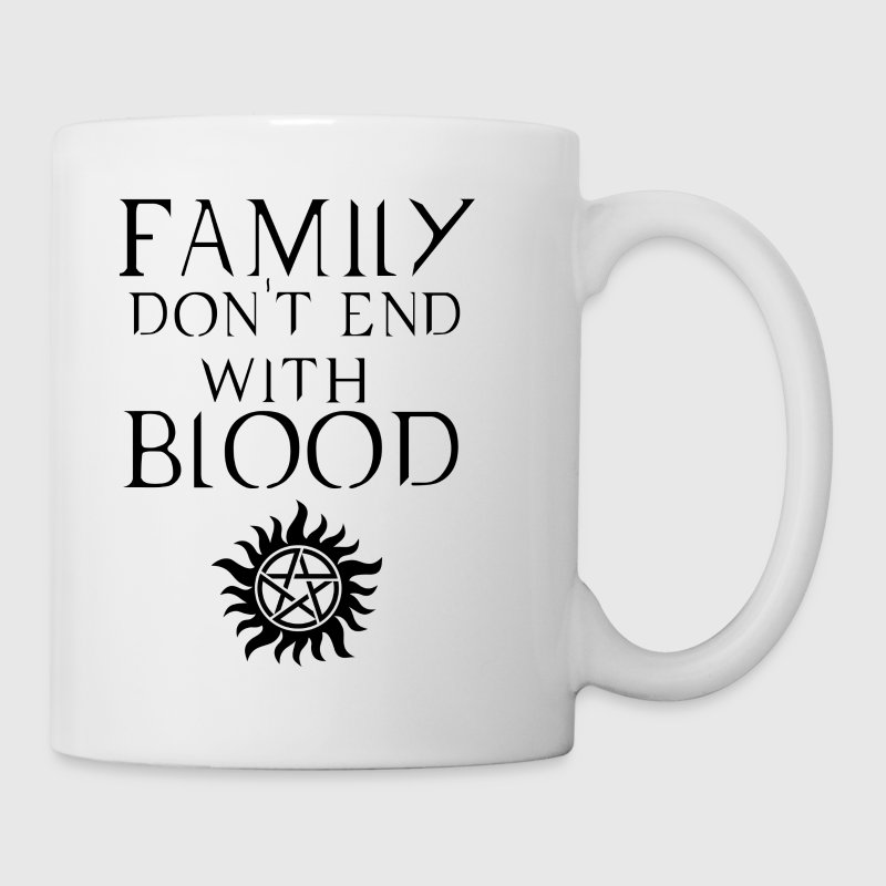 Family don't end with blood Dark - Coffee/Tea Mug