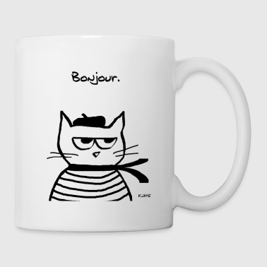 Angry Cat is Terribly French - Coffee/Tea Mug
