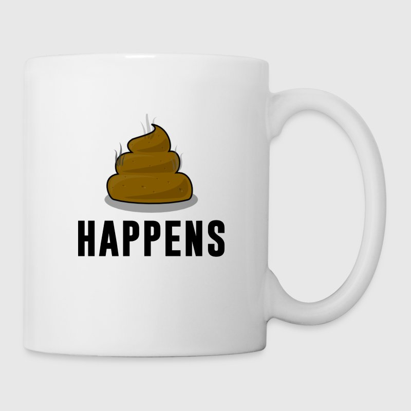 Women's Hoodie   Shit Happens - Coffee/Tea Mug