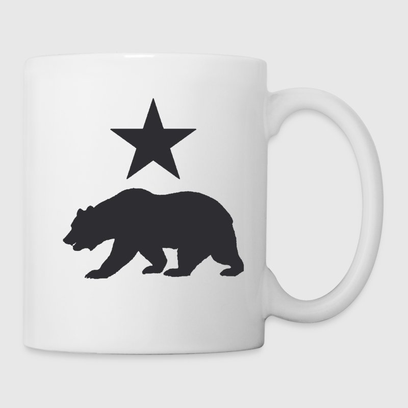 California republic bear - Coffee/Tea Mug