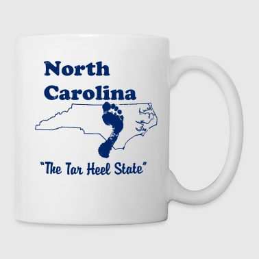 north carolina tar heel - Coffee/Tea Mug