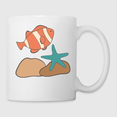 under water - Coffee/Tea Mug