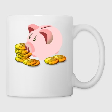 Piggy Bank - Coffee/Tea Mug