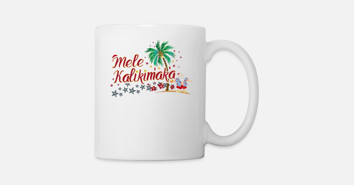 Mele Kalikimaka Merry Christmas Cool Hawaii by   Spreadshirt