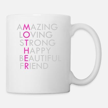 Acronym Mother Acronym Beautiful Inspirational - Coffee/Tea Mug