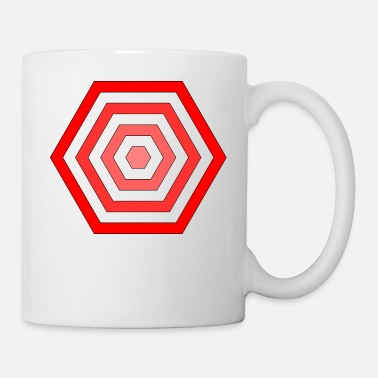 Hexagon hexagon - Coffee/Tea Mug
