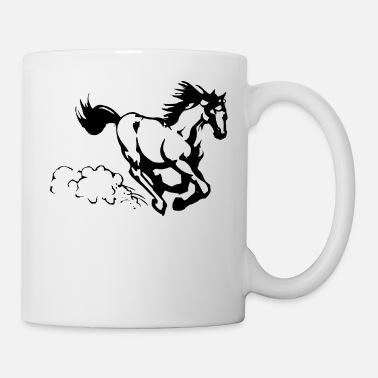 Gallop Galloping horse - Coffee/Tea Mug