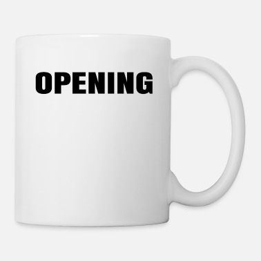 Open Opening - Coffee/Tea Mug