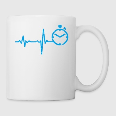 Sprinting gift heartbeat sprint - Coffee/Tea Mug