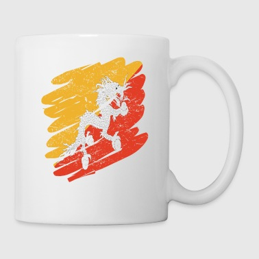Bhutan Pinsel Land Heimat Bhutan - Coffee/Tea Mug