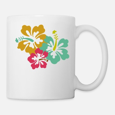Caribbean Caribbean Flowers - Coffee/Tea Mug