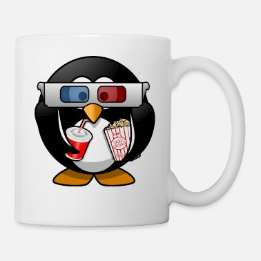Cinema cinema penguin - Mug