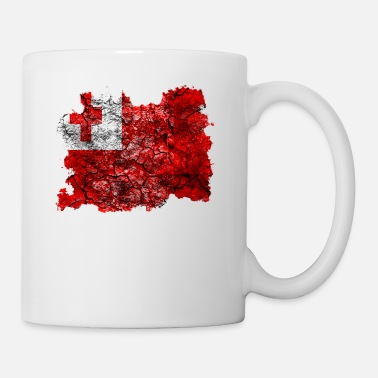 Vintage Tonga Vintage Flag - Coffee/Tea Mug