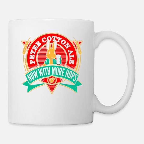 Movie Mugs & Drinkware - Peter Cotton Ale - Mug white
