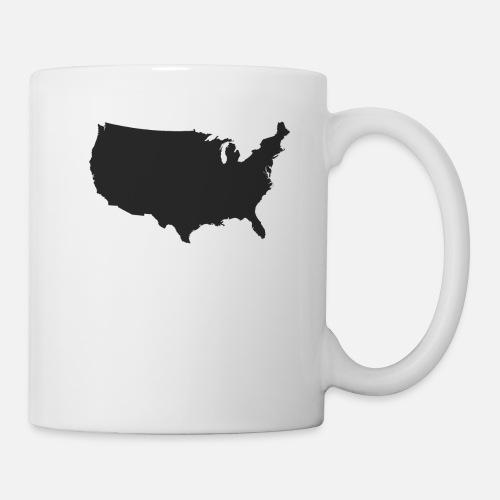 The United States Of America   USA Map by Kooreys Kool Prints ...
