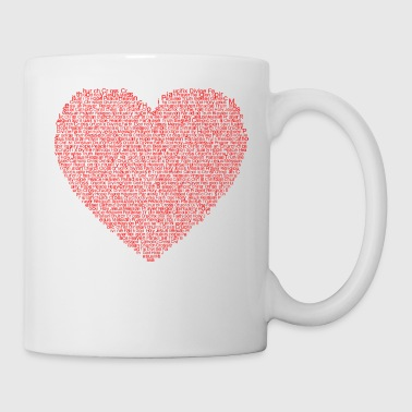Christian Christian heart - Coffee/Tea Mug