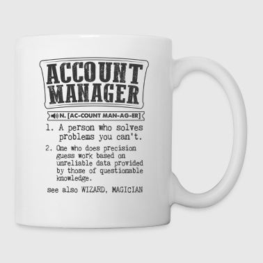 Account Manager Definition Gift Mug - Coffee/Tea Mug