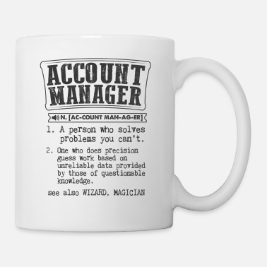 Account Manager Definition Gift Mug - Mug