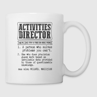 Activities Director Definition Gift Mug - Coffee/Tea Mug