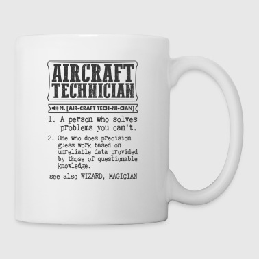 Aircraft Technician Definition Gift Mug - Coffee/Tea Mug