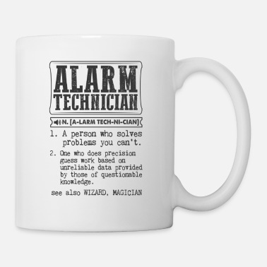 Alarm Technician Definition Gift Mug - Coffee/Tea Mug
