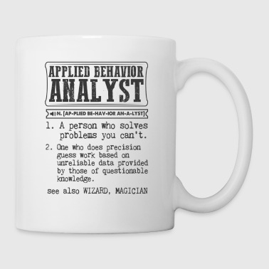 Applied Behavior Analyst Definition Gift Mug - Coffee/Tea Mug