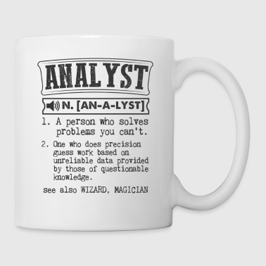 Analyst Definition Gift Mug - Coffee/Tea Mug