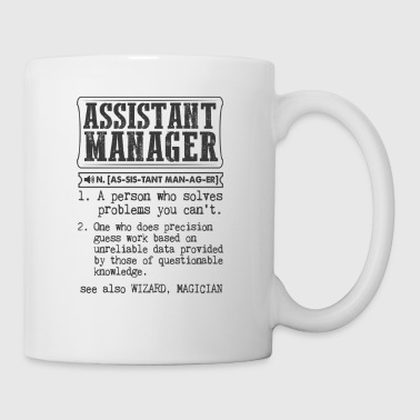 Manager Assistant Manager Definition Gift Mug - Coffee/Tea Mug