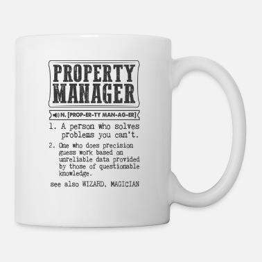 Property Property Manager Definition Gift Mug - Mug