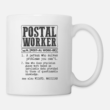 Worker Postal Worker Definition Gift Mug - Coffee/Tea Mug