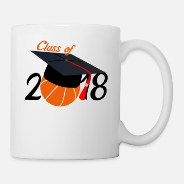 Basketball Class Of 2018 Basketball Gift Design - Mug