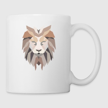 Lion-head Lion Head - Lion Mane - Coffee/Tea Mug