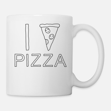 I Heart I PIZZA - I heart Pizza - Coffee/Tea Mug