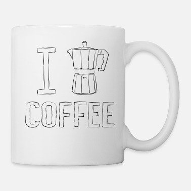 I Heart I Coffee - I heart Coffee - Coffee/Tea Mug