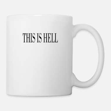 Short Message THIS IS HELL black - Mug